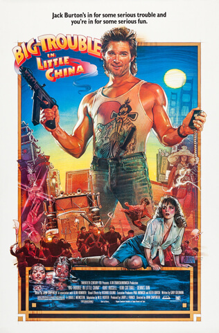 Big Trouble in Little China (1986) Movie Review