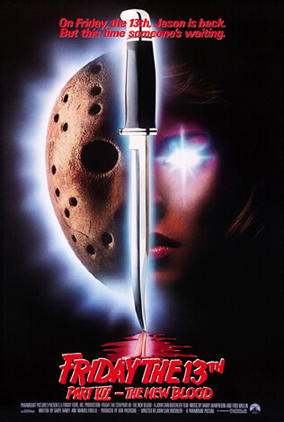 Friday the 13th Part VII - The New Blood poster