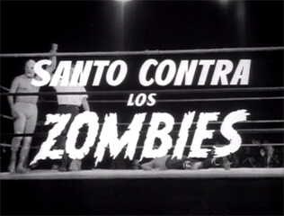 Invasion of the Zombies title screen