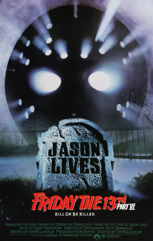 Jason Lives: Friday the 13th Part VI (1986) Movie Review