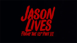 Jason Lives: Friday the 13th Part VI title screen