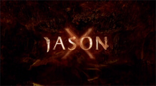 Jason X title screen