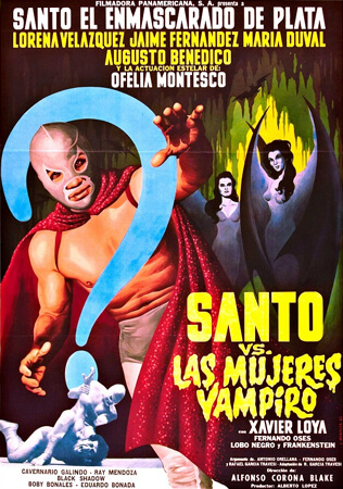 Santo vs. the Vampire Women poster