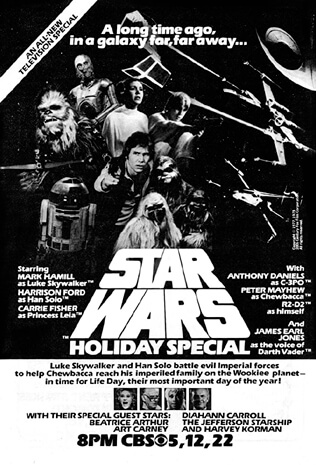 The Star Wars Holiday Special (1978) Movie Review