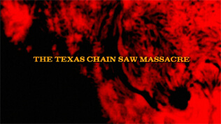 The Texas Chain Saw Massacre title screen
